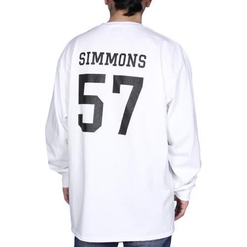 B wholenine simmons regular length for Long length long sleeve t shirts